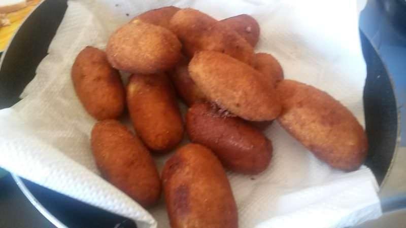 Crocchette di patate napoletane, Crocchè o panzarotto