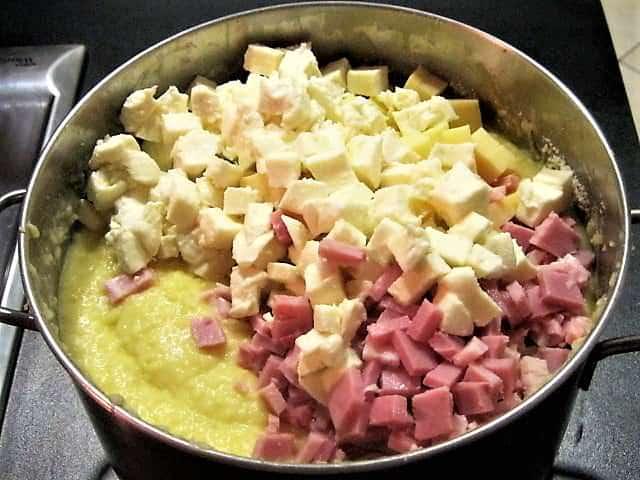 pasticcio di patate e prosciutto cotto