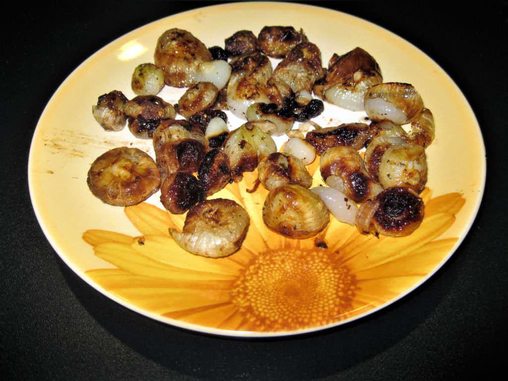 cipolle borettane in agrodolce al forno