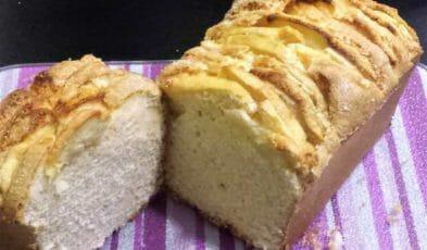 plumcake alle mele senza glutine