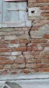 crepe muro pericolose