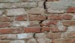crepe nei muri