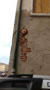 crepe nel muro