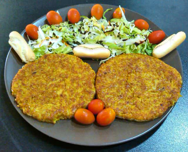 hamburger vegetariane