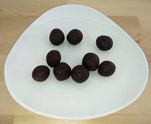 ricetta palline cioccolato e cocco