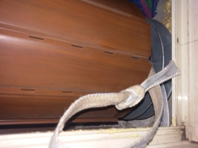 come cambiare la corda delle tapparelle