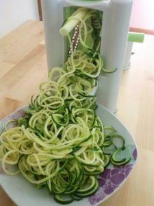ricette spaghetti zucchine dieta iperproteica
