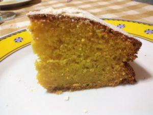 torta di zucca dolce semplice