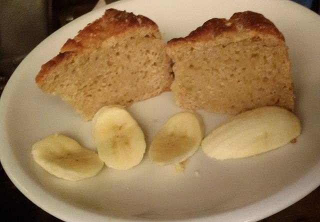torta vegana banana e mango