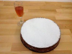 carrot cake con zucchero a velo