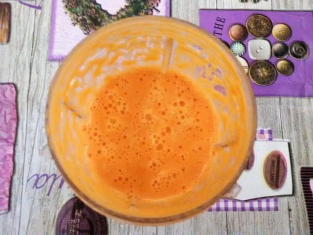 frullato di carote