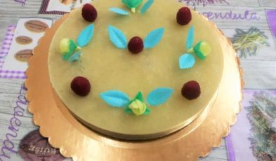 torta di compleanno low carb