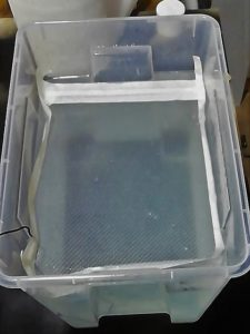 film idrografico attivato