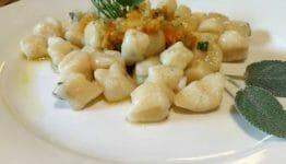 gnocchi di patate aromatizzati