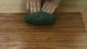 pasta per pane al carbone vegetale