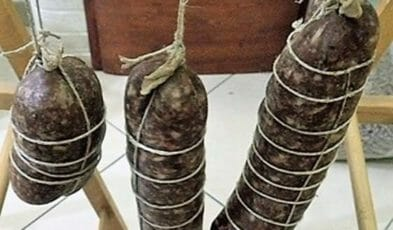 Stagionatura salame