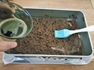 base per tiramisu con pan di spagna al cioccolato estroso