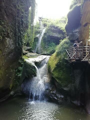 cascata delle grotte del caglieron