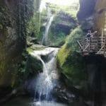 cascate delle grotte del caglieron in provincia di treviso