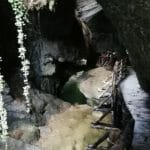 passerella nelle grotte del caglieron