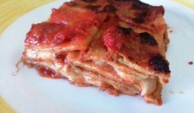 parmigiana di melanzane estroso pronta da mangiare