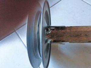 meccanismo serranda rotto