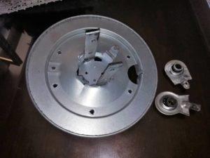 meccanismo serranda distrutto