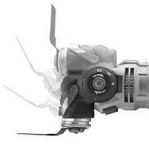 utensile multifunzione con testa snodata