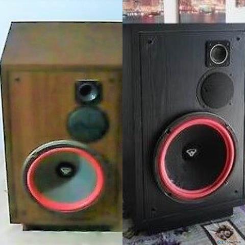 Restyling e restauro di diffusori hi-fi