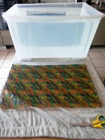 vasca per cubicatura