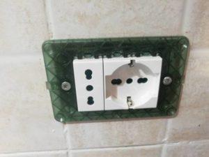 presa elettrica bticino